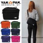 YAKPAK ヤックパック MINI SHOULDER BAG ショルダーバッグ レディース メンズ YP0502 BLK