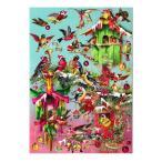 ロジャーラボード クリスマス アドベントカレンダー (鳥×巣箱) カード