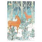 ロジャーラボード クリスマス アドベントカレンダー (二頭のシカ) カード
