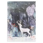 ロジャーラボード クリスマス アドベントカレンダー (銀のトナカイ) カード