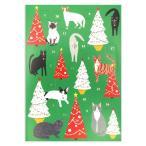 ロジャーラボード クリスマス アドベントカレンダー (クリスマスツリーとネコたち) カード