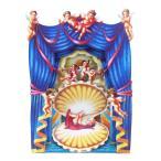 SANTORO GRAPHICS ポップアップ (赤ん坊×天使×貝)グリーティングカード