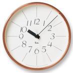 掛け時計 Lemnos/レムノス 銅の時計/WR11-04/掛け時計/Riki/壁掛け/壁掛け時計/掛時計/時計/おしゃれ/渡辺力/人気/デザイン/インテリア/北欧/クロック∇∇