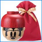 ディズニー汁椀茶碗(大) ギフトセット ミニーマウス【L】【F】 茶碗 ディズニー ごはん茶碗 食器セット プレゼント ギフト ラッピング込み