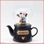 ディズニー 食器セット ミッキー ミニー マグカップ ティーセット 急須  スノードーム(TEA FOR ONE )ミッキーマウス&ミニーマウス
