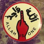 ショッピングシール シール/アッラーイズワンLサイズ  アジア エスニック イスラーム