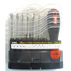 (業務用20セット)TRAD ドライバーセット/作業工具 〔15個入〕 ハンドル付き TDS-15 〔業務用/DIY用品/日曜大工〕