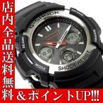 ショッピングShock ポイント5倍 送料無料 G-SHOCK カシオ 腕時計 CASIO Gショック メンズ 電波 ソーラー AWG-M100-1A
