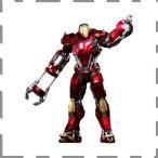 ホットトイズ パワー・ポーズ アイアンマン3 1/6スケール限定可動フィギュア アイアンマン・マーク35 (レッド・スナッパー) / S