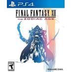 ショッピングFINAL Final Fantasy XII The Zodiac Age 輸入版:北米 - PS4 [91858]