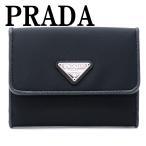 プラダ PRADA 財布 二つ折り財布 レディース TESSUTO NERO 黒 ブラック 1MH523-UZ0-F0002