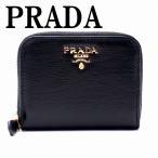 プラダ PRADA コインケース 財布 小銭入れ ラウンドファスナー 6連 レザー 1MM268-2EZZ-F0002