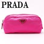 プラダ PRADA ポーチ コスメポーチ 化粧ポーチ NERO 小物 ロゴ 1NA350-ZMX-F0505