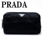 プラダ PRADA ポーチ コスメポーチ 化粧ポーチ ブラック 黒 小物 ロゴ 1NA693-2BQP-F0002