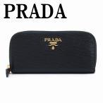 プラダ キーケース PRADA ラウンドファスナー 6連 NERO 黒 レザー 1PG604-2EZZ-F0002