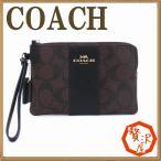 コーチ COACH ポーチ ハンドポーチ リストレット クラッチ 財布 ハンドバッグ シグネチャー レディース 54629IMAA8