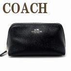 コーチ ポーチ COACH コスメポーチ 化粧ポーチ ブラック黒 57857IMBLK