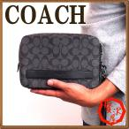 コーチ バッグ メンズ セカンドバッグ COACH クラッチバッグ 財布 セカンドポーチ 58541CQBK