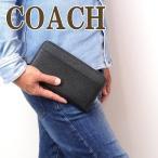 コーチ 財布 COACH メンズ 長財布 パスポートケース レザー製 59120BLK