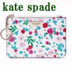 ケイトスペード KateSpade キーケース キーリング コインケース 花柄 ピンク レディース WLRU4885-143