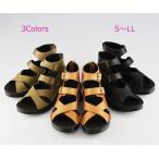 ショッピングブーツサンダル ブーツ サンダル 日本製 柔らかフットベッドインソールのブーツサンダル/インコルジェ