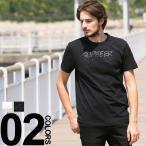 モンクレール MONCLER Tシャツ 半袖 プリント SUPEEER MON MONCLER クルーネック ブランド メンズ MC80326508390T