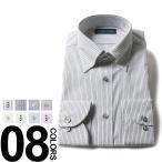 VITTORIO VENETO (ヴィットリオヴェネト) 形態安定 綿100% スナップダウン 長袖 ワイシャツ