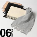 エンリココベリ ENRICO COVERI マフラー レディース ウール ロゴ刺繍入り フリンジ EC16MUFFLER