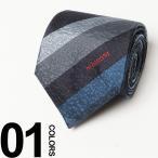 MISSONI (ミッソーニ) シルク100% グラデーション レジメンタルストライプ ネクタイ 【MS5770001】