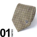 ヴェルサーチ VERSACE ネクタイ シルク メデューサ 小紋柄 ブランド メンズ 紳士 ビジネス 雑貨 VCP07810005