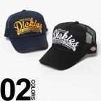 Dickies (ディッキーズ) 3Dロゴ刺繍 メッシュ切り替え アジャスター付き キャップ