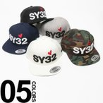 SY32 by SWEET YEARS エスワイ32 バイ スウィートイヤーズ ロゴ刺繍 スナップバック キャップ SY5405