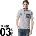 SY32 by SWEET YEARS エスワイサーティトゥバイスィートイヤーズ パイル地 ロゴ 迷彩ポケット 半袖 ポロシャツ 【SY7222】