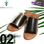 ショッピングemu エミュ オーストラリア EMU Australia フラットサンダル レザー MOLLY ブランド レディース 靴 スライドサンダル EMWMOLLY sandal