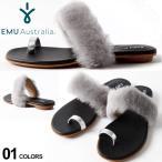 ショッピングブーツサンダル EMU Australia エミュ オーストラリア シープスキン マイクロスエード ファー サンダル EMWMYRTLEFUR sandal