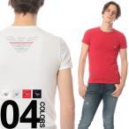アルマーニ EMPORIO ARMANI エンポリオアルマーニ バック ウィングプリント クルーネック 半袖 Tシャツ EA1110356P725 ブランド メンズ