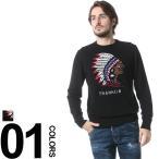 フランクリン マーシャル Franklin&Marshall ニット セーター カシミヤ混 インディアン クルーネック 長袖 FMKNMA060