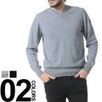 アルマーニ EMPORIO ARMANI EA7 エンポリオアルマーニ ニット セーター ウール 無地 袖ロゴ Vネック EA6XPMZ7PM04Z ブランド メンズ