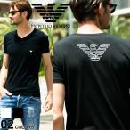 エンポリオアルマーニ EMPORIO ARMANI Tシャツ 胸ロゴ Vネック 半袖 アンダーTシャツ EA110810CC735