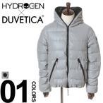 ハイドロゲン×デュベティカ HYDROGEN×DUVETICA リフレクターシェル フード ダウンジャケット REFLEX DJKT HY21D000 メンズ ブランド