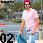 ディースクエアード DSQUARED2 Tシャツ 半袖 クルーネック メランジ ブランド メンズ トップス ロゴ 刺繍 ストレッチ D2D9M202330画像