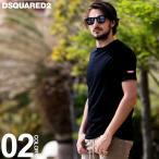 ディースクエアード DSQUARED2 Tシャツ 半袖 ロゴ クルーネック ストレッチ ブランド メンズ トップス プリント D2D9M202270