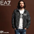 エンポリオ アルマーニ ナイロンジャケット メンズ EMPORIO ARMANI EA7 ロゴ プリント パーカー ブランド アウター ウインドブレーカー EA6GPB32PNC3Z