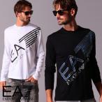 エンポリオ アルマーニ メンズ Tシャツ 長袖 EMPORIO ARMANI EA7 迷彩 ロゴ プリント ブランド トップス ロンT カットソー カモフラージュ EA6HPT37PJ7CZ