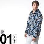 モンクレール MONCLER ナイロン100% 袖ロゴワッペン カモフラージュ総柄 フード付き フルジップ ブルゾン MCFAYENCE6 メンズ ブランド