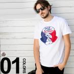モンクレール MONCLER Tシャツ 半袖 グースプリント ブランド メンズ MC80320508390T
