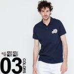 【父の日無料ラッピング対象品】 モンクレール MONCLER ポロシャツ 半袖 ワッペン ブランド メンズ MC830420084556