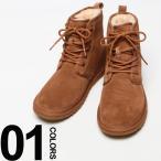 ショッピングアグ アグオーストラリア UGG AUSTRALIA レザー ロゴ レースアップ ブーツ HARKLEY 【UGG1016472】 メンズ ブランド