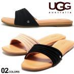 アグ UGG Australia ロゴ フラット サンダル JURUPA ブランド レディース スライド UGGL1109970