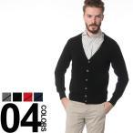 アンドレモーリス ANDRE MAURICE カシミヤ 100% カーディガン メンズ ブランド ニット メリヤス カシミア イタリア製 カーデ 14K081